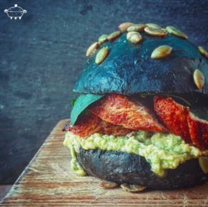 Mex Burger - Pollo paprika e avocado piccante