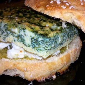 Manuela - Omelette burger