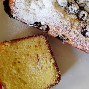 Barbara - Plumcake di ricotta mirtilli e cioccolato bianco