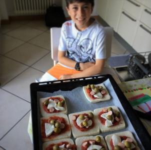 Figlio di Valeria - Toast pizza