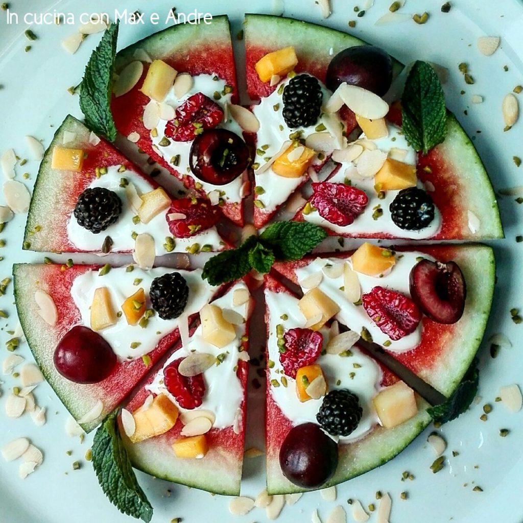 Pizza & Fruit