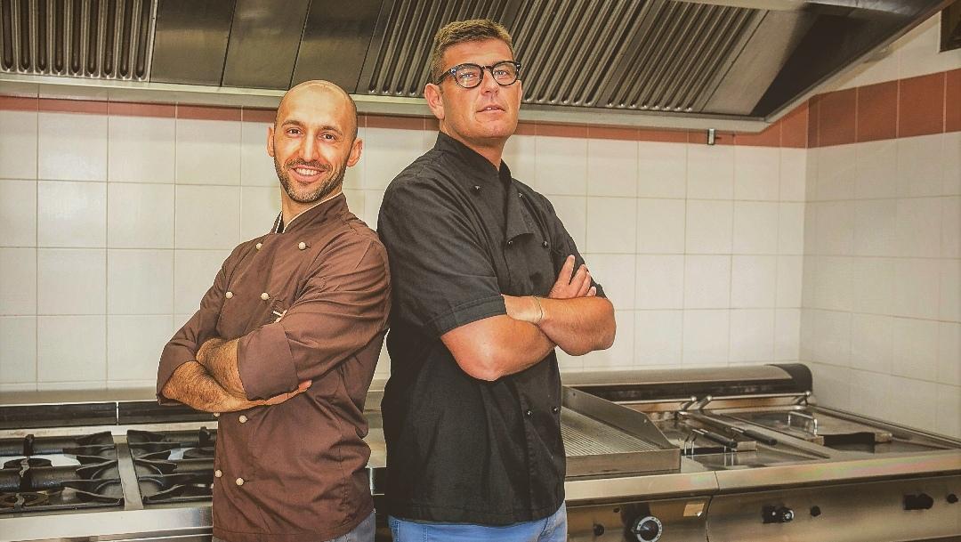 In cucina con Max & Andre