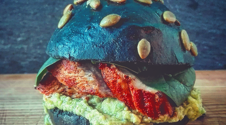 Mex Burger – Pollo paprika e avocado piccante