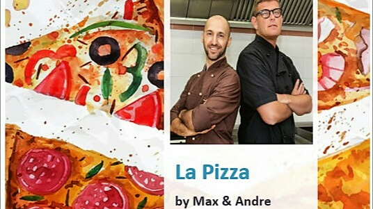 ISCRIVITI per ricevere E-book – La Pizza by Max & Andre –