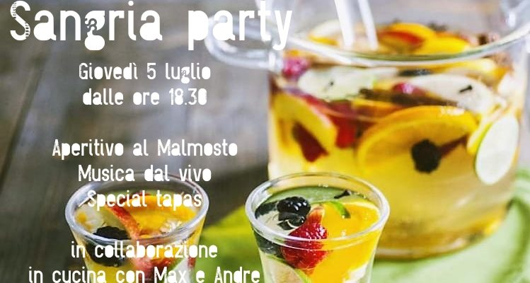 Sangria Party al Malmosto