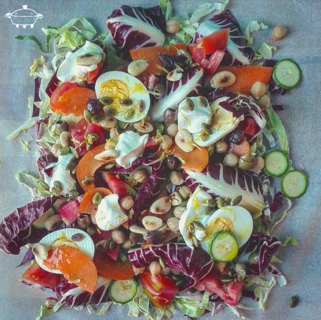 L'insalata svuotafrigo di Max & Andre