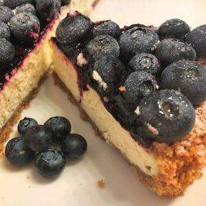 Chiara - Cheesecake ai mirtilli e lime