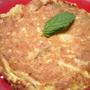 Manuela - Tortilla di patate con menta e curry