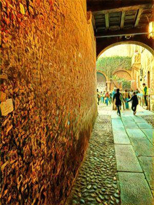 Il muro di Romeo e Giulietta