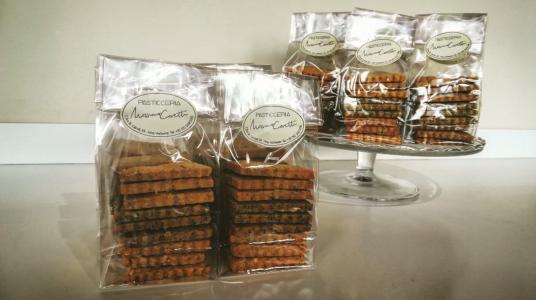 I biscotti salati di Max & Andre