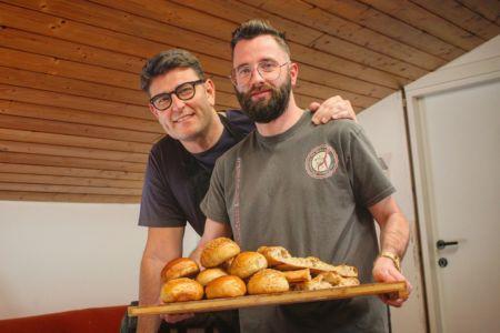 Corso di pane e focaccia a casa di Diego