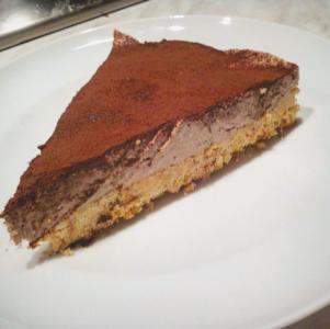 Manuela - Cheesecake al caffè cioccolato e cannella