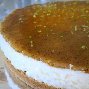 Federica - Cheesecake al kiwi e lime
