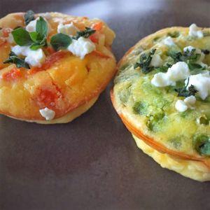 Federica - Frittatine allo zenzero e verdure