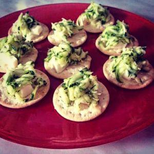 Manuela - Tartine di zucchine, robiola e lime