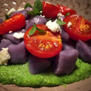 Federica - Gnocchi di patate viola
