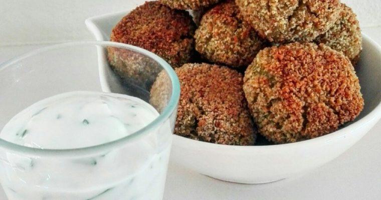 Crocchette di quinoa e zucchine, profumate al curry