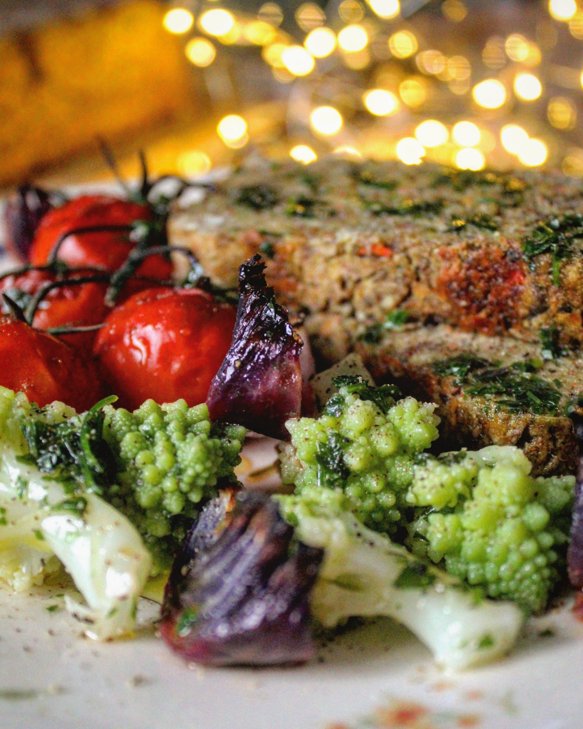 Polpettone di lenticchie vegano