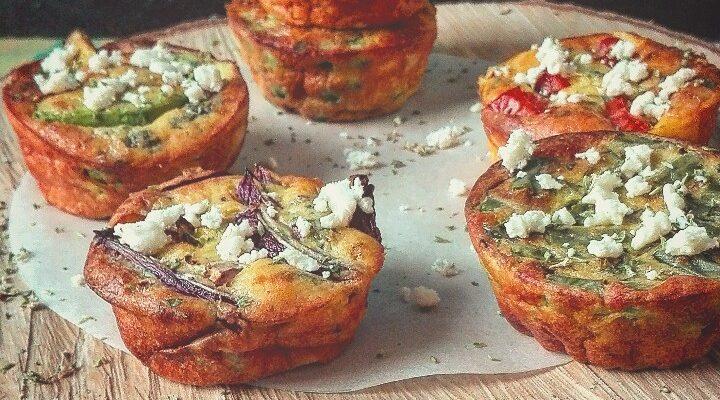 Frittatine profumate allo zenzero con verdure