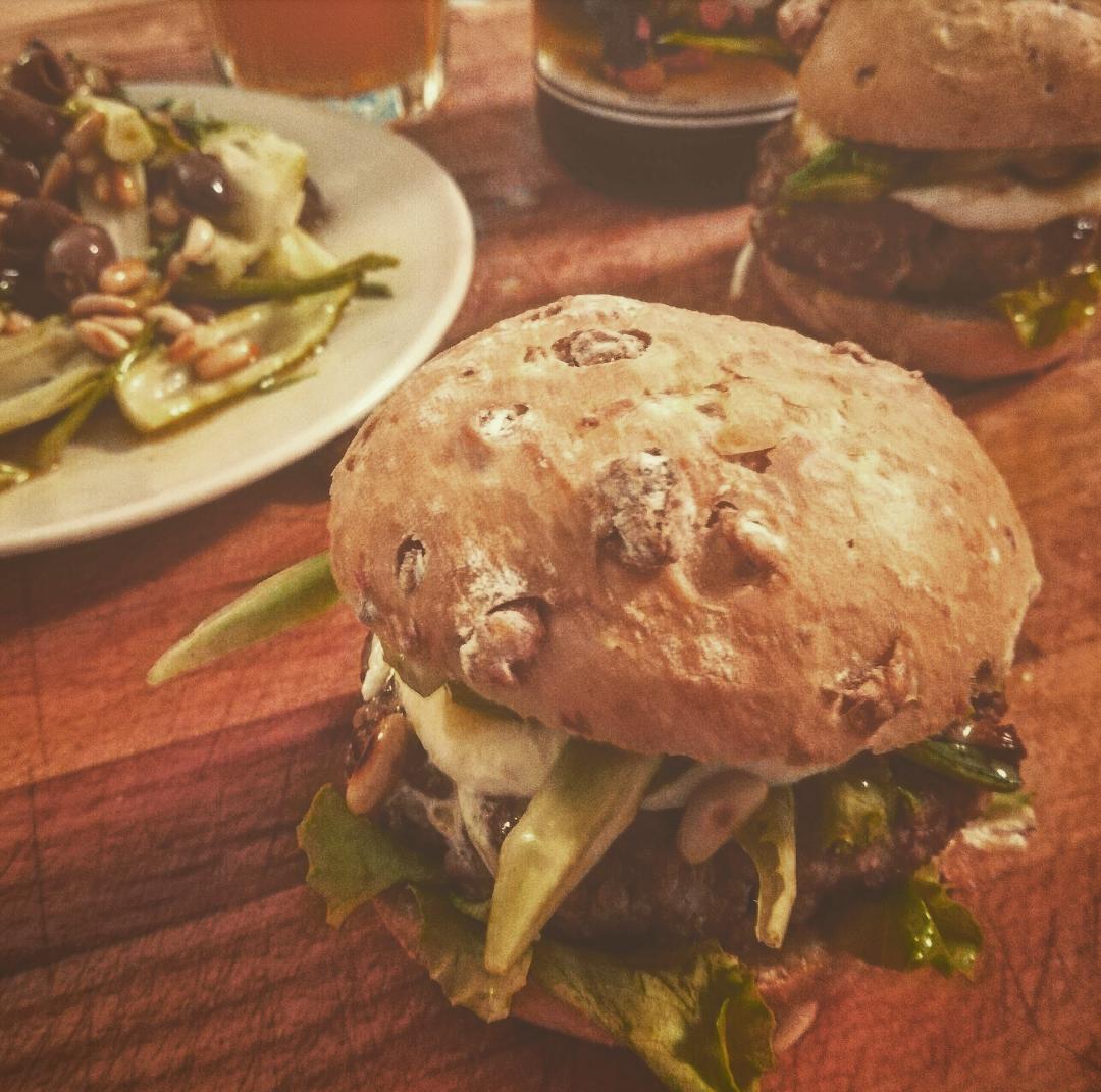 Puntarella Romana Burger