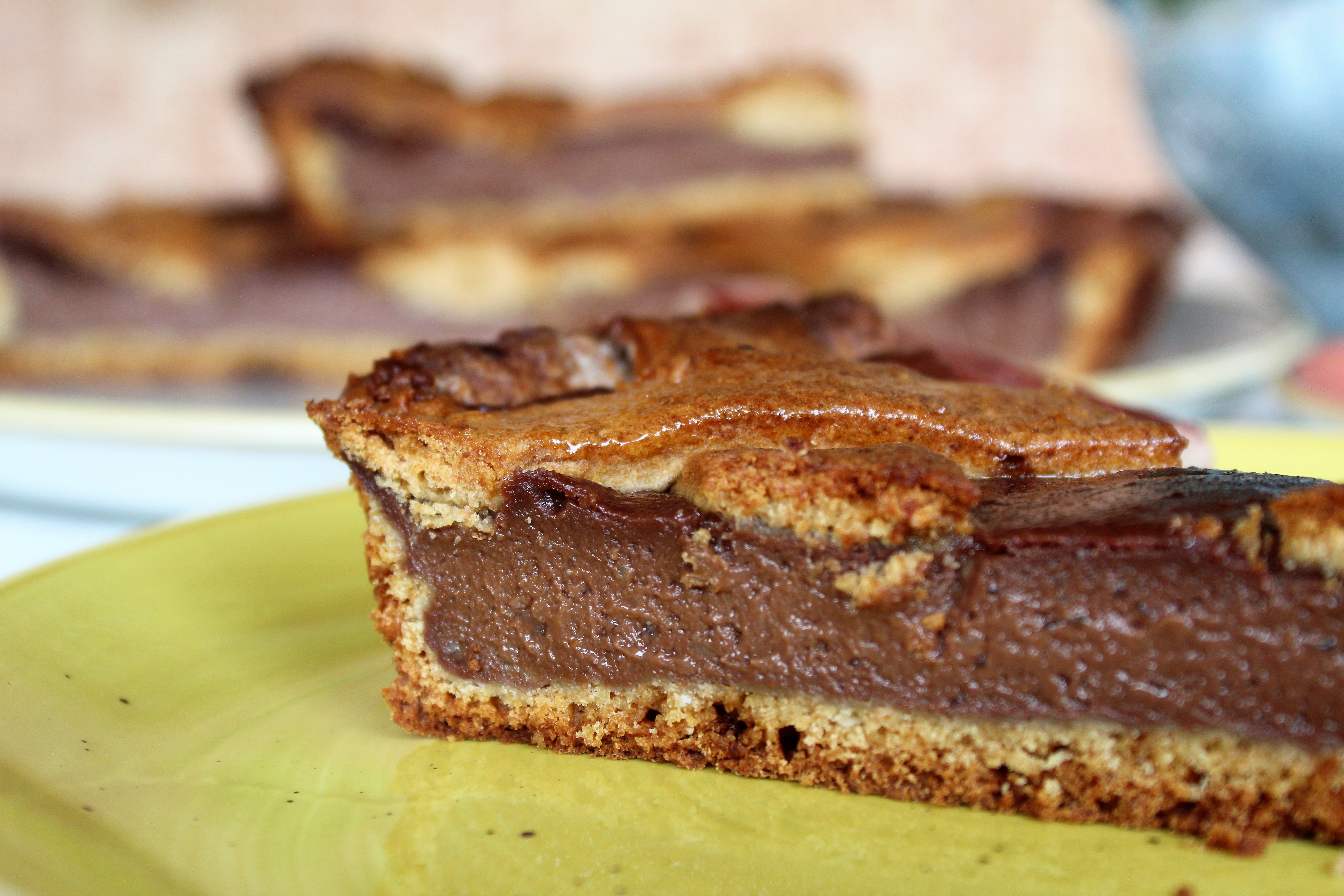 Crostata cioccolato