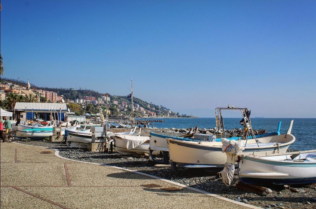 Toccata e fuga al mare a Cogoleto