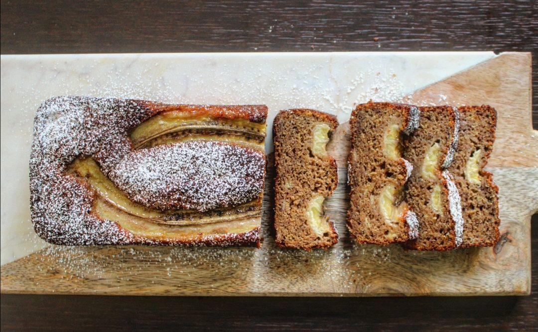 Plumcake con banana e cannella