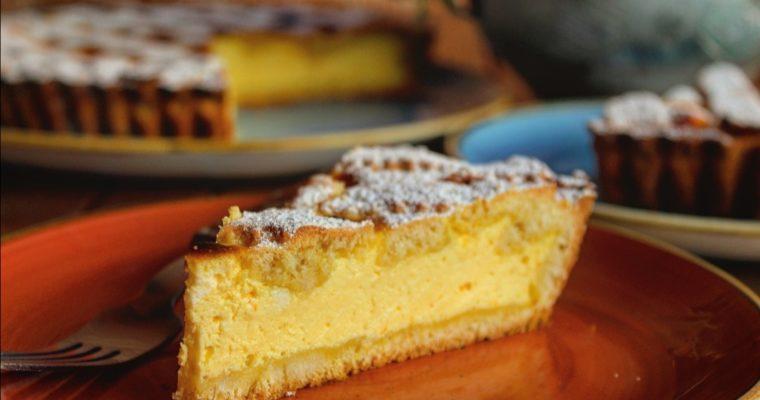 Crostata con mascarpone e yogurt