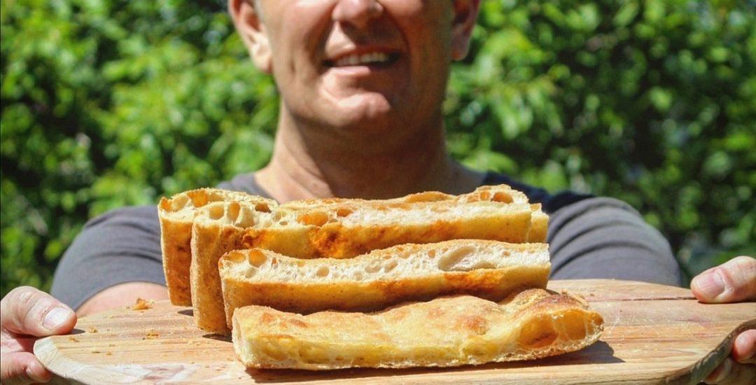 Pizza bianca – impasto base