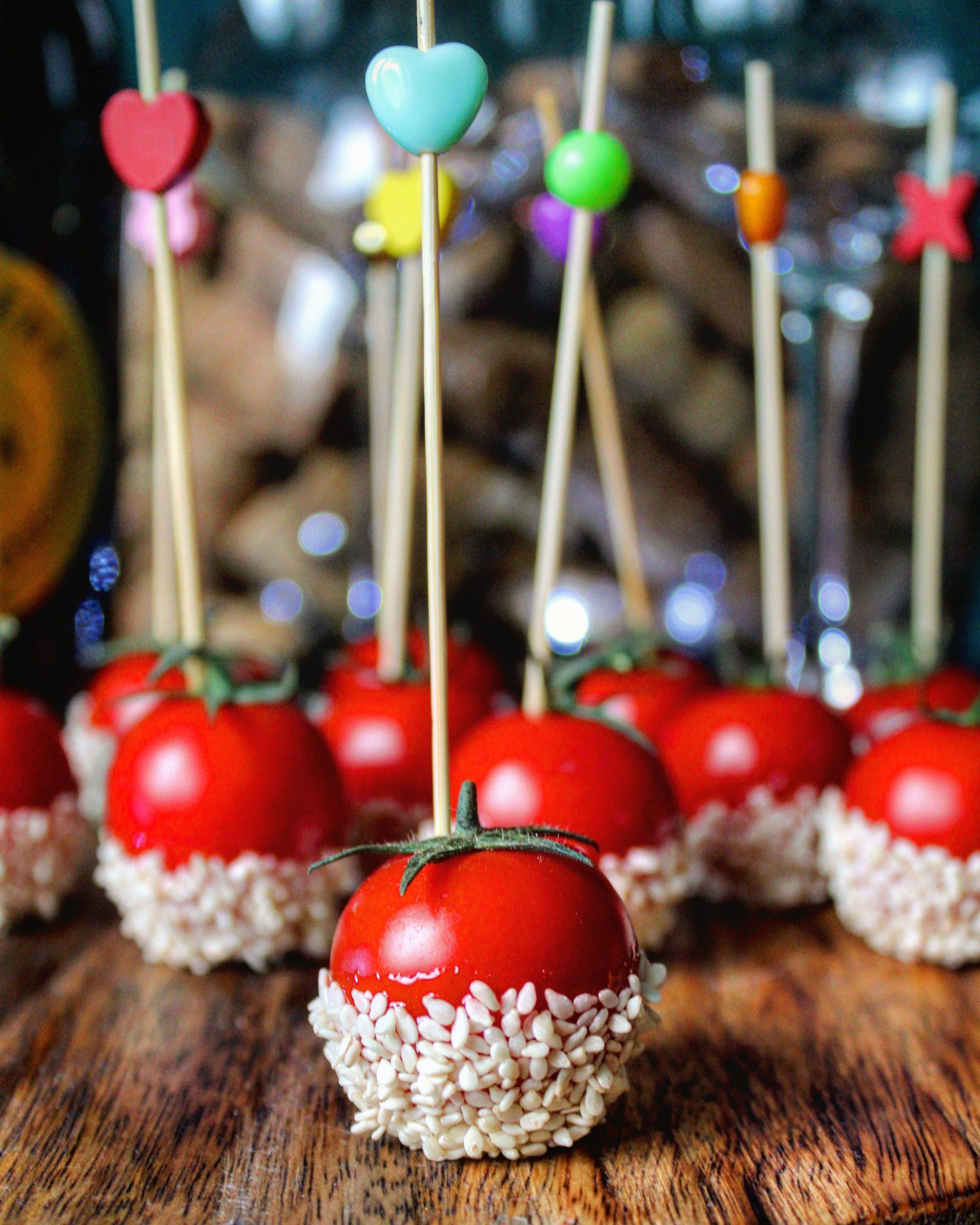 Lecca lecca al pomodoro ciliegino