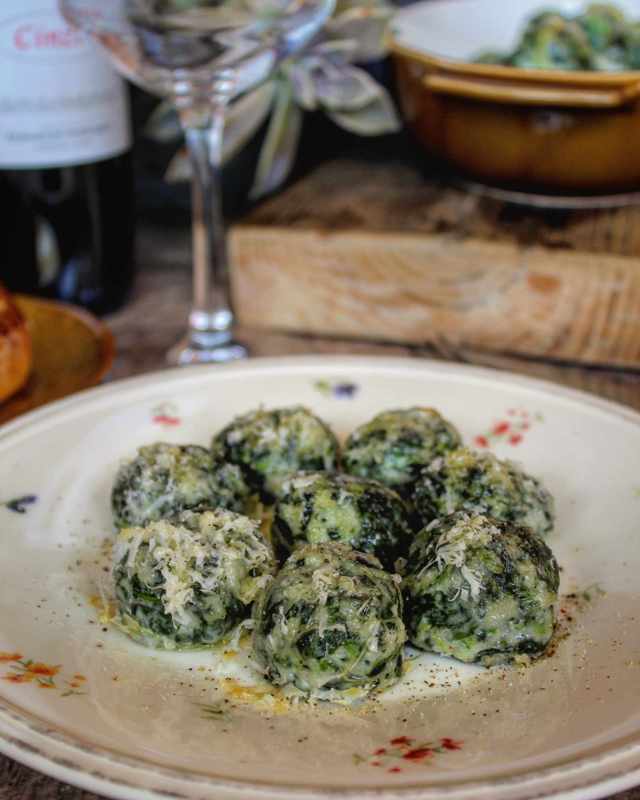 Gnocchi spinaci e ricotta al forno