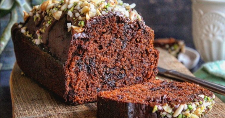 Plumcake cioccolato e miele