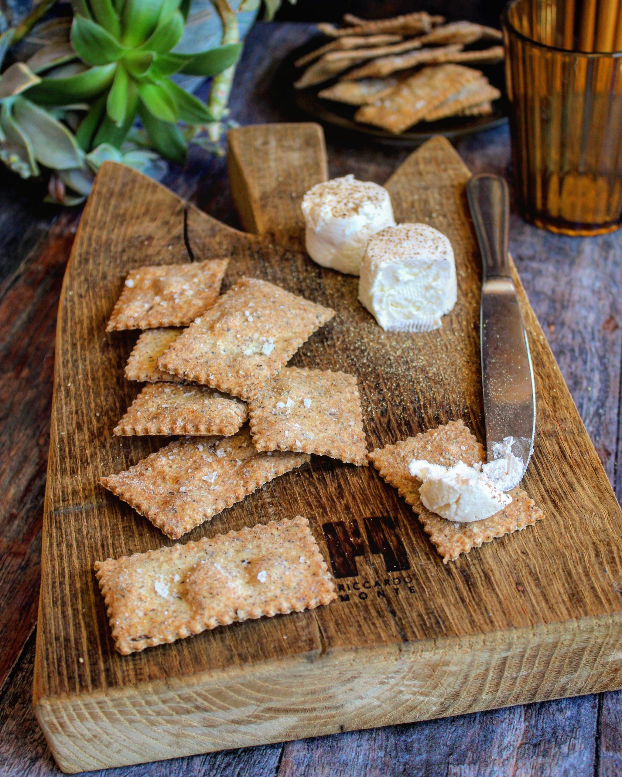 Crackers di grano saraceno e cumino